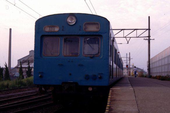 クハ79920 昭和57年8月 岩瀬浜駅