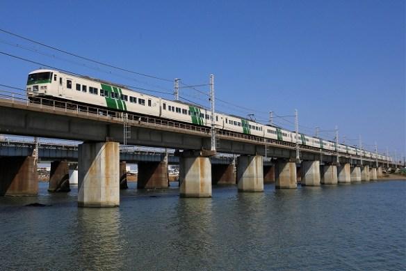 定期列車引退185系3/2021.05.20/Posted by 893-2