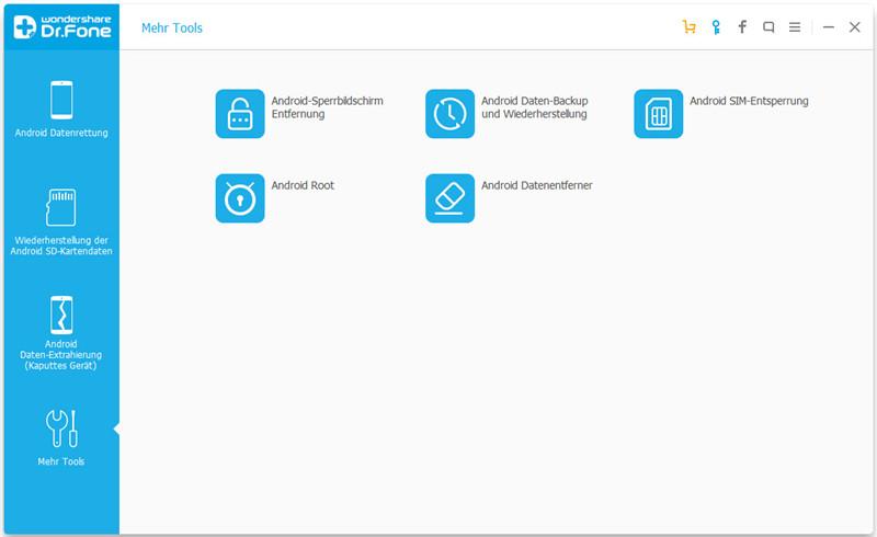 [Wondershare] Dr.Fone - Android Root: Rooten Sie Ihr Android-Telefon mit einem Klick.