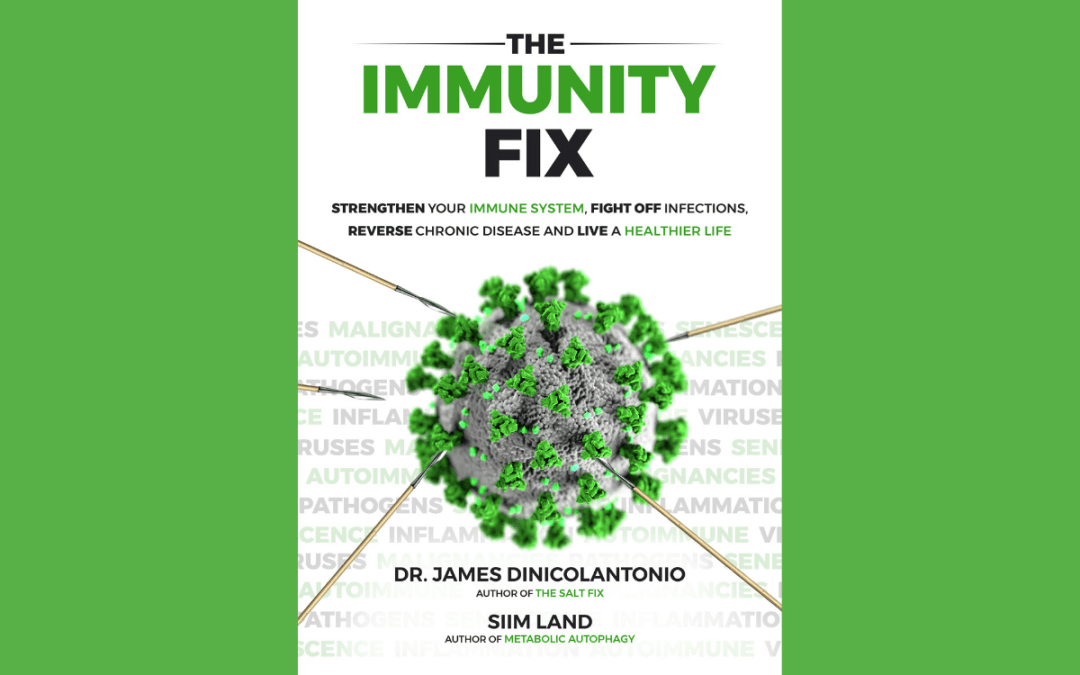New Book, The Immunity Fix, Provides Strategies to Support the Immune System