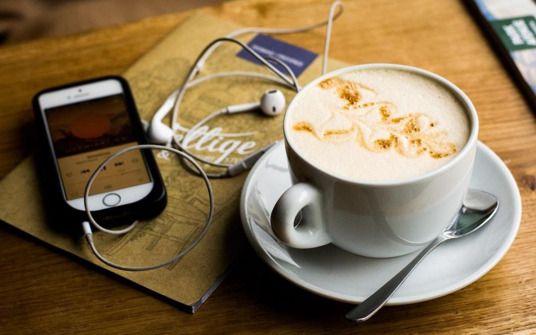 Wellness podcasts and books