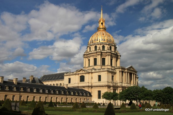 Les Invalides And Army Museum Paris