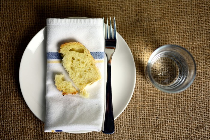 Post - hleb i voda