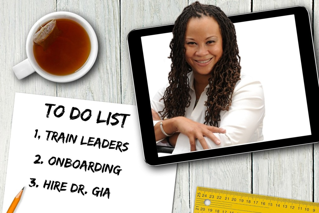 DR. GIA TO DO LIST