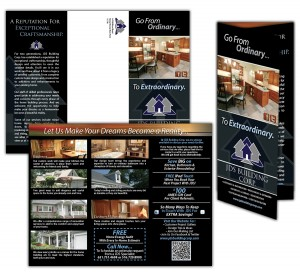 drgli jds building corp brochure design print work
