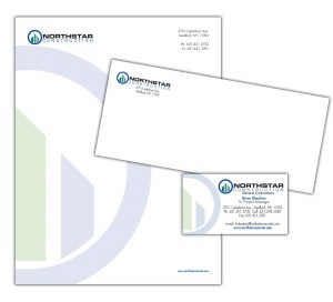 drgli northstar concrete corp id kit design print work