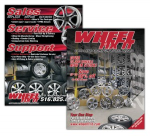drgli wfi wheel flyer design print work