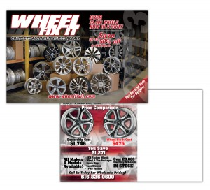 drgli wfi wheel selling postcard design print work
