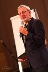 Dr. David Gruder providing a training program
