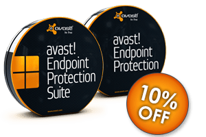 Save 10% on avast! Endpoint Protection & Endpoint Protection Suite Business Solutions