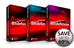 Bitdefender US Price Cuts - Save up to 69%