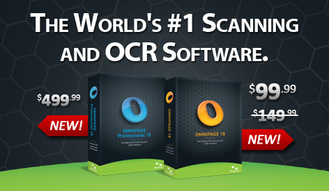The World's #1 Scanning and OCR Software.