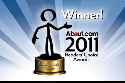 About.com 2011 Reader's Choice Award Winner