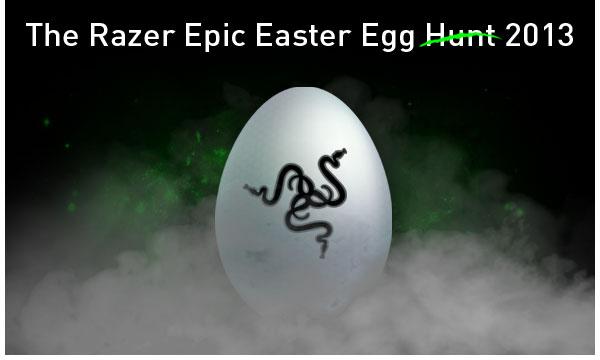Razer Epic Easter Egg Hunt 2013