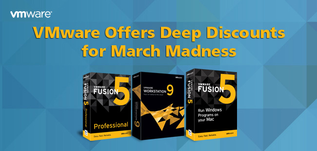 VMware Offers Deep Discounts for March Madness