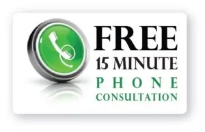 free 15 minute phone consultation