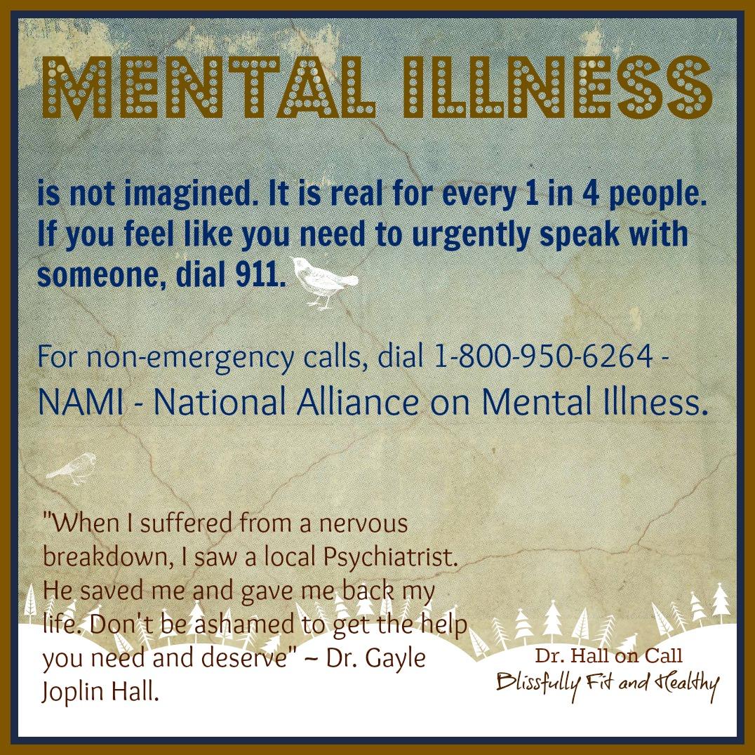 Mental Illness Is Not Imagined It Is Real Drle Joplin