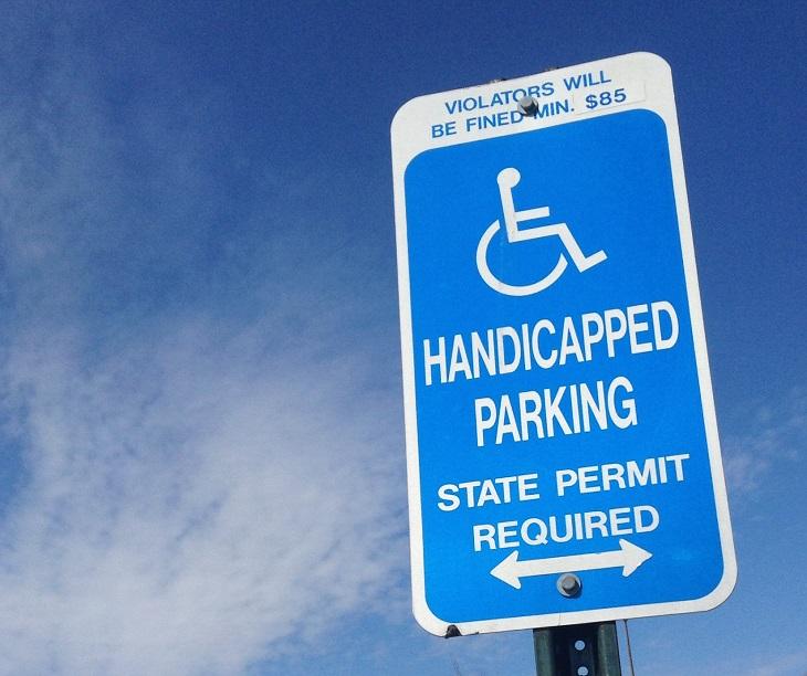 are handicap parking permits