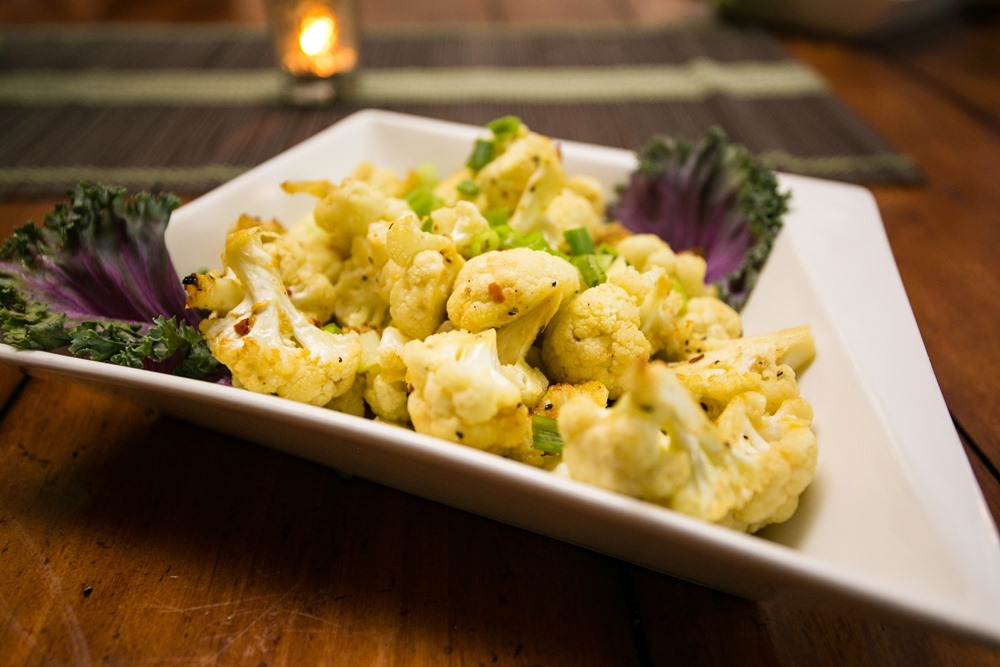 Roasted Cauliflower without capers