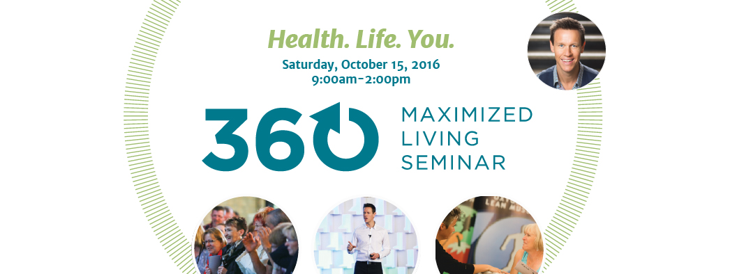 360 Maximized Living Seminar (Oct 15 London)