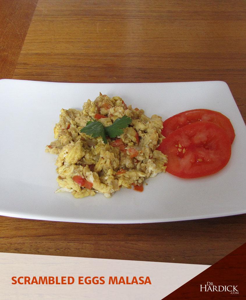 Scrambled Eggs Masala Recipe!