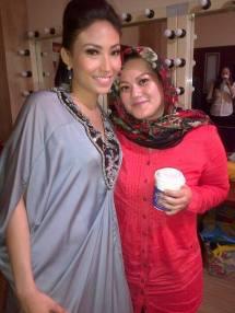 Ayu Dewi ~Bukan 4 Mata, shooting 24 Juni 2013~