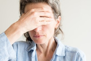 menopause affecting this middle-aged woman's sleep schedule