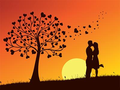 Dribbble  Fall in Love by Hakan Ertan