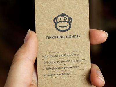 biz card natural dribbble Business Card #1   20 cartes de visite avec effet papier