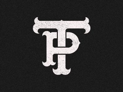 Dribbble - TP Monogram by Alex Rinker