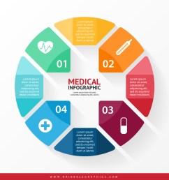 free medical infographic design 01 [ 1500 x 1559 Pixel ]