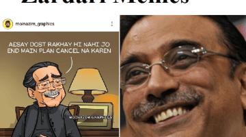 Zardari memes