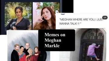 Memes on Meghan Markle