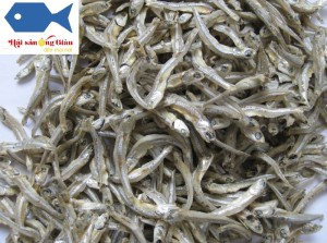 Dried anchovy delicious