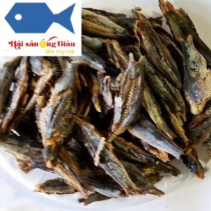 Delicious dishes from dried herring