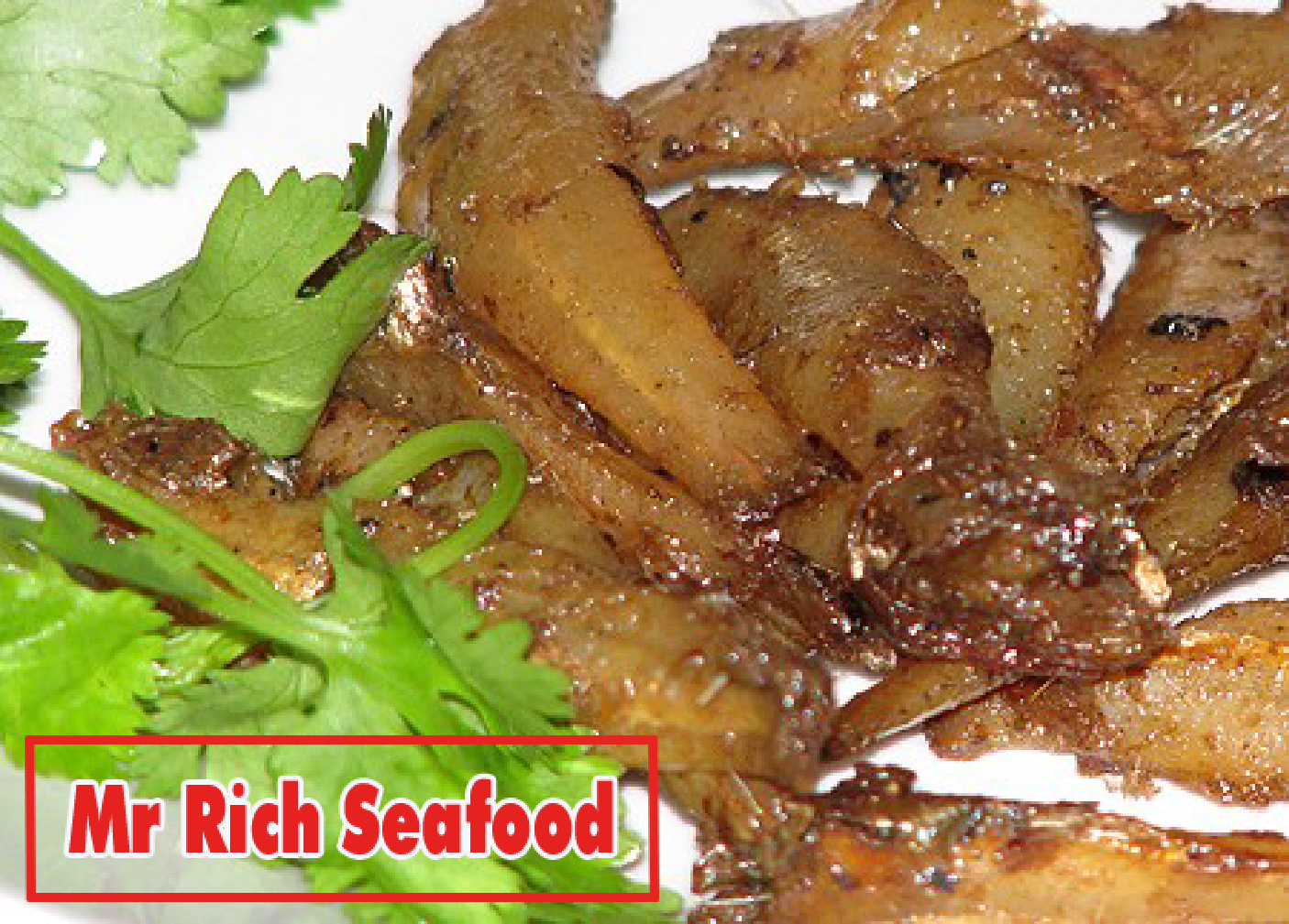 roasted anchovy sweet and sour