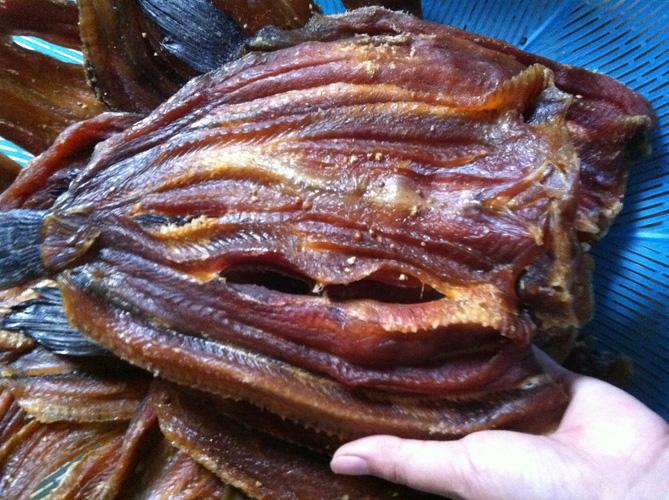 Dry snakehead fish