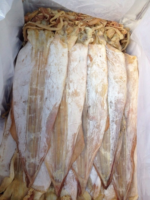 Delicious dried squid