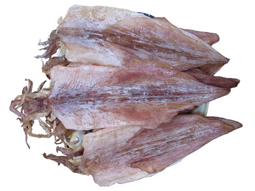 Selecting delicious dried squid