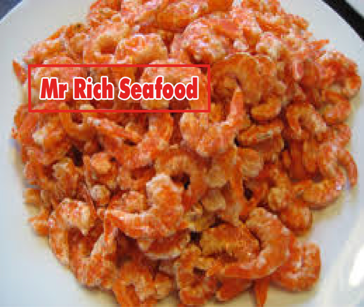dried shrimp are extremely simple
