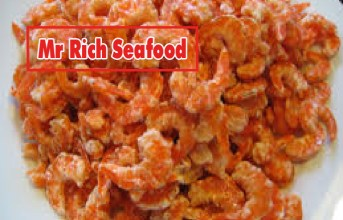 Delicacies made from dried shrimp are extremely simple