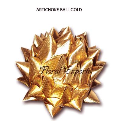 Artichoke Ball Gold Loose - Christmas Decorations Wholesale