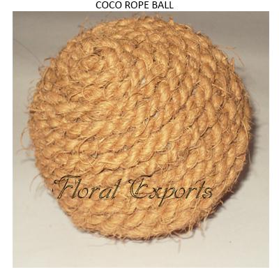Coco Rope Ball - Bulk Bowl Fillers Balls