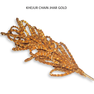 Palm Chain Gold Sparkle on Stick