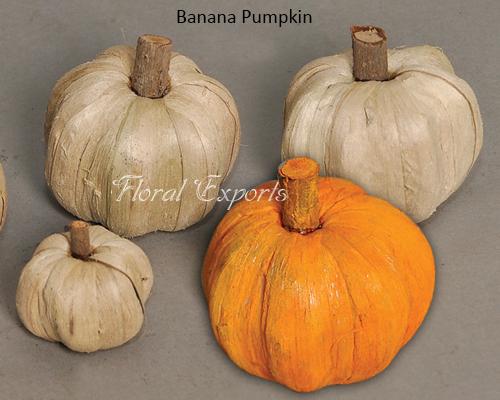 Banana Pumpkin - Handmade Flowers