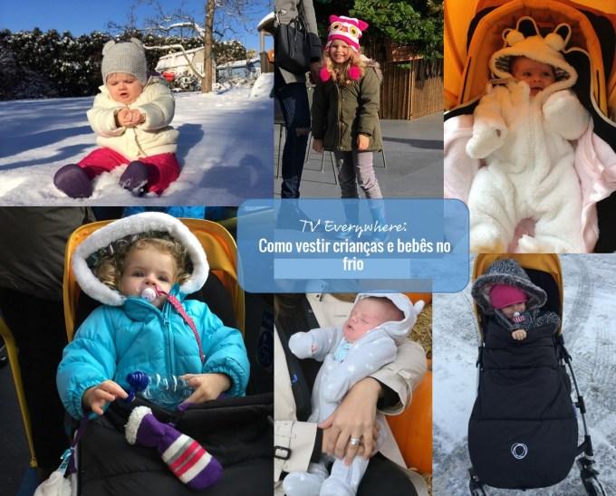 Como vestir Crianças e bebês no frio