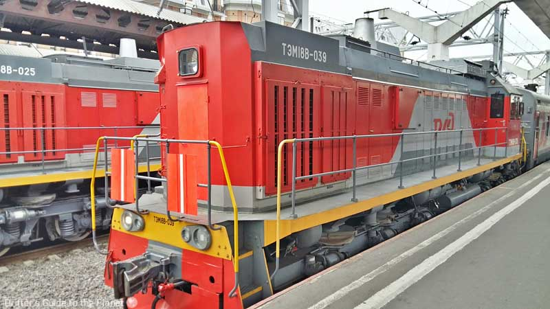 Trans Siberian Railway Stops