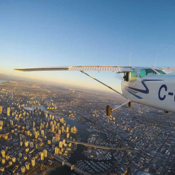 Cessna Airplane Piloting Tour Kiev