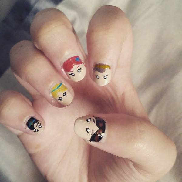 Disney Inspired Nail Art