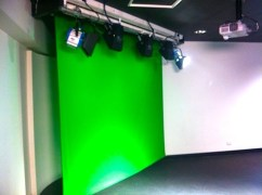 Remote Controlled Screens for Blue Screen, Green Screen and Projections